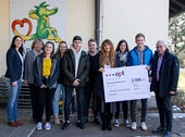 €2,500 towards a better future- ept Supports the Tabaluga Children's Home in Schongau